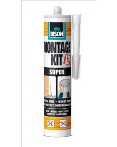 Montage kit Wit super 440 gram koker