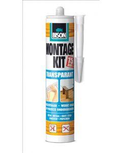 Montage kit Transparant 310G Koker