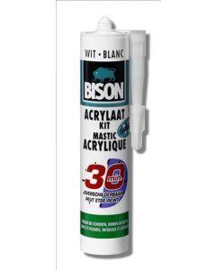 Sneldrogende acrylaatkit 30 minuten wit 310ml