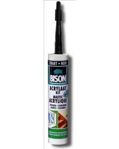 Acrylaatkit zwart 310ml