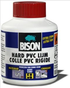 HARD PVC LIJM 100 ML FLACON + KWASTJE
